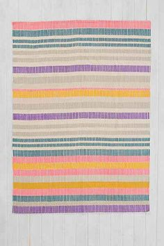 Plum & Bow Painted Stripe Rug - Urban Outfitters