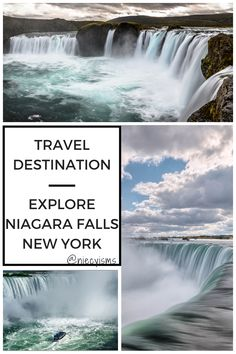 Best Places To Vacation, Places To Visit, Vacation Ideas, Whitewater Kayaking, Canoeing, Niagara Falls New York, Autumn In New York, Travel Inspiration, Travel Ideas