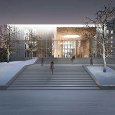 Perm Academic Opera and Ballet Theatre named after P. I. Chaykovsky development : Sergey Skuratov Architects