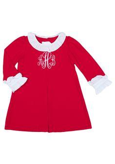 Red School Girl Dress