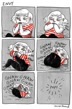 10 Comics That Depict Your Darkest Feelings With Freakish Accuracy envy