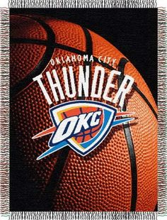 Oklahoma City Thunder NBA Photo Real Tapestry Throw #Thunder #nba #tapestry