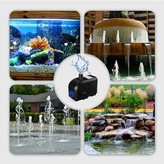 Fish & Aquariums Industrious Submersible Pump Ultra Quiet Water Pump Fountain Pump For Fish Tank Aquarium Pet Supplies