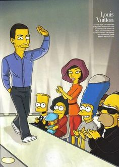 d889e6c8d95fcd Here s What Karl Lagerfeld and Anna Wintour Would Look Like as Simpsons  Characters