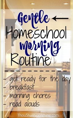 Our homeschool morning routine has changed and evolved over the years. When my four littles were all still really little, I considered it a good morning if everyone got fed and diapers changed. I'm glad I'm not in that season anymore. One in diapers is