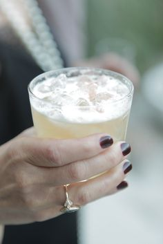 french 75  gin, champagne, orange, lemon