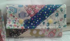 Crazy patchwork bolsa.