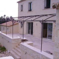 Les Volutes d'Azur - Offres - Jardins et extérieur - Tonnelle Pergola fer forgé