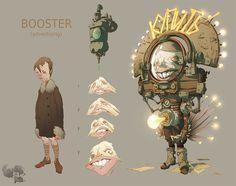"Booster_""ASH"", Dmitry Klyushkin on ArtStation at http://www.artstation.com/artwork/booster_-ash"