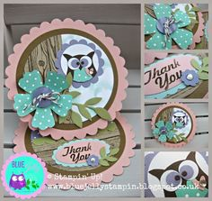 Blue Jelly Sew n So - Victoria Rogers: Stampin' Up! More ...