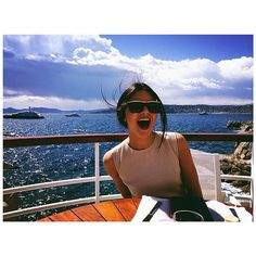 Kendall Jenner looks carefree in Cannes, naturally.