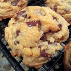 Didn't have flour for cookies, but I found this and I had to bake them at 20-25 mins instead of the 8-10, even at 350 F.
