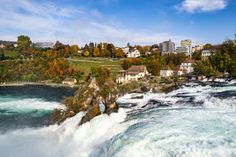 Rhine Falls Switzerland, Lone Wanderer, Cool Places To Visit, Illinois, Travel Guide, The Good Place, Travel Photography, Chicago, Wanderlust