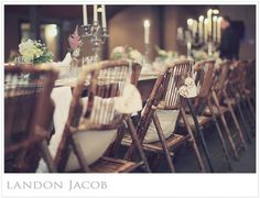 Featured on the Southern Wedding Magazine daily blog Bride and Groom Chair Signs Rustic -$24.99