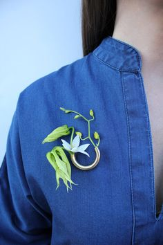 Lady Grey x Fox Fodder Farm Mother's Day Brooch