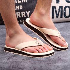 $18.00 (Buy here: https://alitems.com/g/1e8d114494ebda23ff8b16525dc3e8/?i=5&ulp=https%3A%2F%2Fwww.aliexpress.com%2Fitem%2FFashion-Design-Wedge-Sandals-Thick-outsole-Beach-Flip-Flops-Sandals-Men-Summer-Shoes-Slippers%2F32699754024.html ) Fashion Design Wedge Sandals Thick outsole Beach Flip Flops Sandals Men Summer Shoes  Slippers for just $18.00