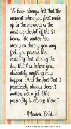 the most wonderful...