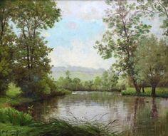 Charles Edmond Rene His (1877 - 1960) Oil Painting