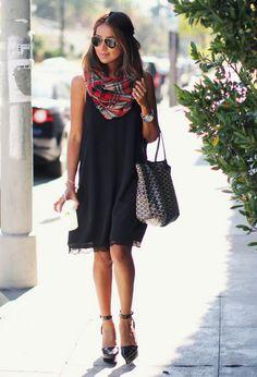 Vestido+foulard