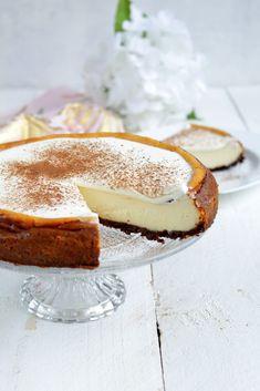 Cheesecake with speculoos - Kuchen, Muffins und Co - Gateau Easy Cheesecake Recipes, Cheesecake Desserts, Cookie Desserts, Chocolate Desserts, Snack Recipes, Dessert Recipes, Snacks, Dessert Blog, Easy No Bake Cookies