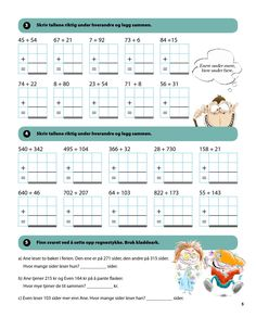 2nd Grade Math Worksheets, Maths, Norway, 1, Author, Education, Digital, Simple, Books