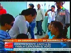 #Venezuela: Hijas del Comandante Hugo Chávez ejercen su derecho al voto #ArgentinaConMaduro