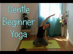 Gentle Hatha Beginner Yoga Class - YouTube - Looks like a good one for T.  :)