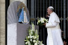 May 8,2013: Pope Francis leads his weekly general audience in St. Peter's Square…