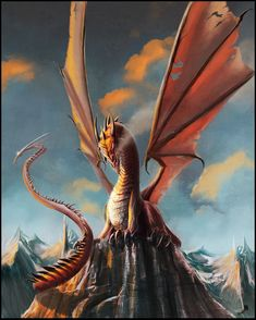 Here's a magnificent collection of dragon smaug illustration designs composing of stunning digital renditions of the great dragon of the Hobbit. Mythological Creatures, Fantasy Creatures, Mythical Creatures, Fantasy Dragon, Fantasy Art, Grafic Art, Mythical Dragons, Dragon Illustration, Magic Realism