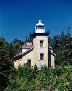 Bois Blanc Island Lighthouse photo by Rick Lanting