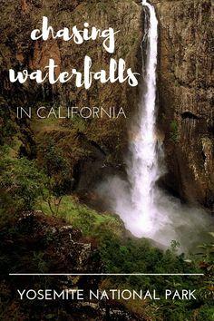 Family Vacations. Nature Vacations. Waterfall Hikes in Yosemite Valley, California. Ribbon Falls, Lower Yosemite Falls and Bridal Veil Falls. https://daytripsanddaydreams.com/2016/06/10/easy-waterfall-hikes-in-yosemite-valley/