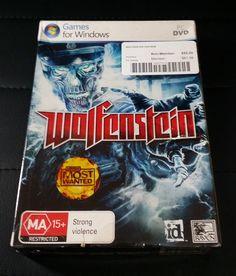 Wolfenstein PC Computer Game Brand New Sealed - FREE Postage