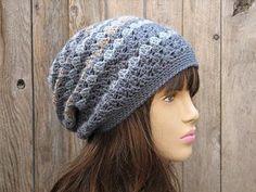 Crochet Hat - Slouchy Hat