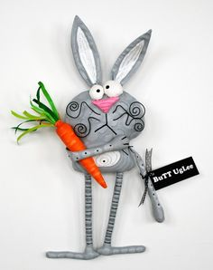 sold...sold...sold...sold...sold ...BuNNy Named RoBBie ... WhimsicaL WaLL ArT ... GreY polKa Dots ...Easter ...