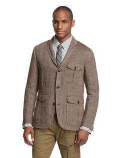 73% OFF Todd Snyder Men's Herringbone Sport Coat