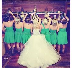 The wife deserves Jack..bridesmaids get the beer!