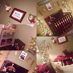 Lumberjack baby room!!