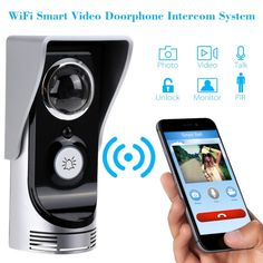 Shop for best us Wi-Fi Enabled Rainproof Video Doorbell for Android or IOS from Tomtop.com at fast shipping. Various discounts are waiting for you!