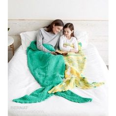 Knit Mermaid Snuggle Sack