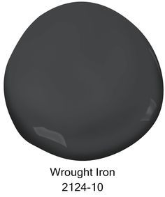 Wrought Iron is a moody, chalky gray that has been on-trend as of late. Pair it with white trim and gold accents or with a pop of color. The Top 10 Best-selling Benjamin Moore Paint Colors Wrought Iron Window Boxes, Wrought Iron Security Doors, Wrought Iron Paint, Wrought Iron Staircase, Wrought Iron Decor, Benjamin Moore Exterior Paint, Benjamin Moore Wrought Iron, Exterior Paint Colors, Paint Colors For Home