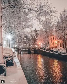 Christmas Scenery, Winter Scenery, City Photography, Winter Photography, Nature Photography, Beautiful Places To Travel, Beautiful World, Wonderful Places, Scenery Pictures