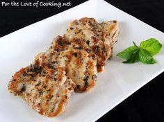 Basil Marinated Chicken Thighs