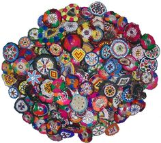 Kuchi Afghan Tribal Beaded Dress Medallion 75 Pcs Wholesale lot Best Price Ever in | eBay