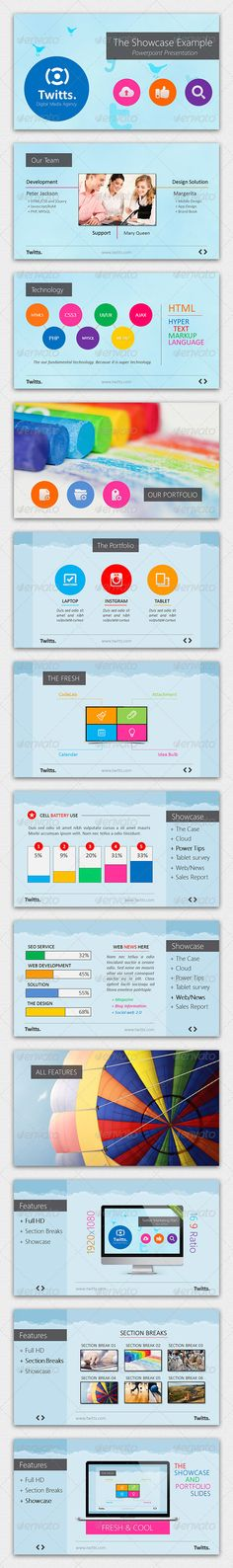Blues Powerpoint Presentation Template  Powerpoint Presentation