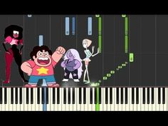 STEVEN UNIVERSE - Piano Medley (Synthesia Tutorial) - YouTube any Steven Universe lovers will adore this vid.