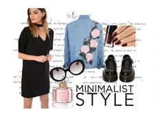 """""""MINIMALIST STYLE"""" by barbtolo ❤ liked on Polyvore featuring Dr. Martens, Glamorous, Guerlain and Prada"""