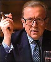 "Farewell to Legendary British Broadcaster, David Frost (1939-2013). Sir Frost became most famous for his 1977 interview with former President Nixon when Nixon apologized for the Watergate scandal. Frost worked on TV for over 40 years starting with ""That Was the Week That Was"" in the early 1960's. He hosted many shows over his career and became a well-known TV presenter, writer, journalist and comedian. He was 74."