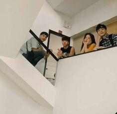 Boy And Girl Best Friends, Korean Best Friends, Cute Friends, Ulzzang Couple, Ulzzang Boy, Boy Squad, Girl Friendship, Friend Goals, Squad Goals