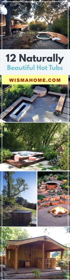 Relax your body in these beautifull hot tubs :D
