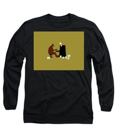 The Bear Play, Black Image, Things That Bounce, Beer, Stylish, Sweatshirts, Long Sleeve, Sleeves, Mens Tops